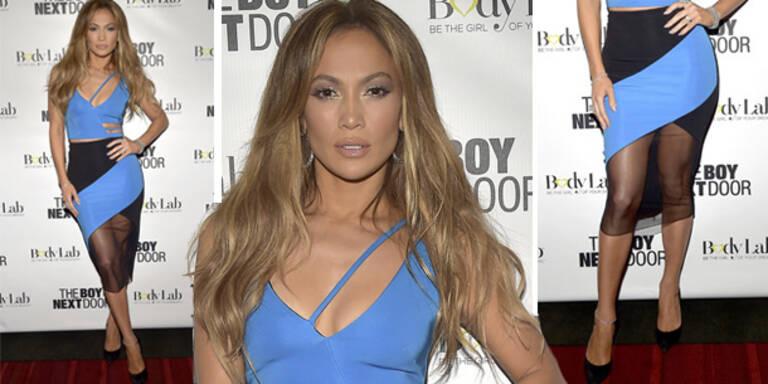 Jennifer Lopez zeigt, was sie hat