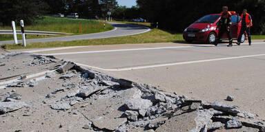 Achtung: Hitze lässt Autobahnen aufplatzen