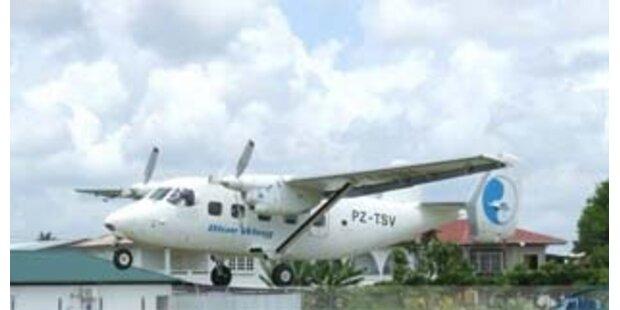 19 Tote bei Flugzeugabsturz in Surinam