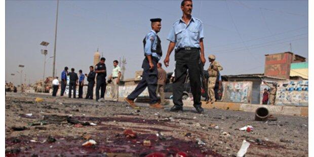 70 Tote bei Anschlägen im Irak