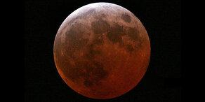 Himmelsspektakel: Blutmond begeistert die Welt