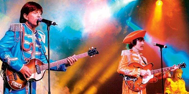 Beatles-Show im Doppelpack