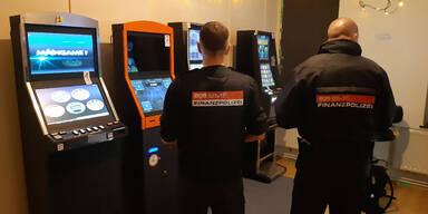 Razzia hebt illegale Glücksspielkeller in Wien aus