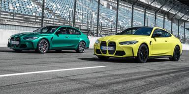Das sind die neuen BMW M3 und M4