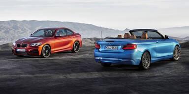 Facelift für BMW 2er Coupé und Cabrio