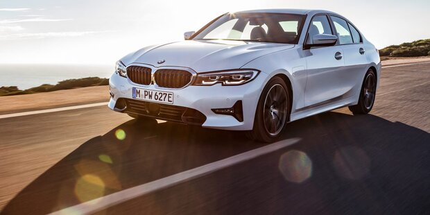 Neuer BMW 3er mit Plug-in-Hybrid