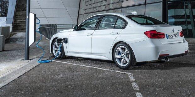 BMW greift mit Elektro-3er Teslas Model 3 an