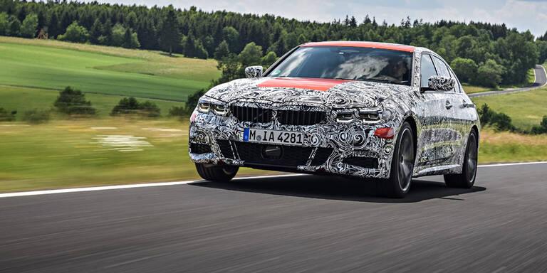 Hier fährt der völlig neue 3er BMW