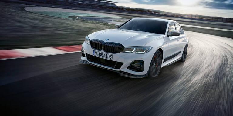 BMW schärft den völlig neuen 3er nach