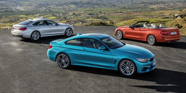 BMW verpasst der 4er-Reihe ein Facelift