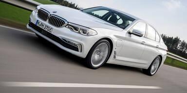 Magna baut auch den BMW 5er Plug-in-Hybrid