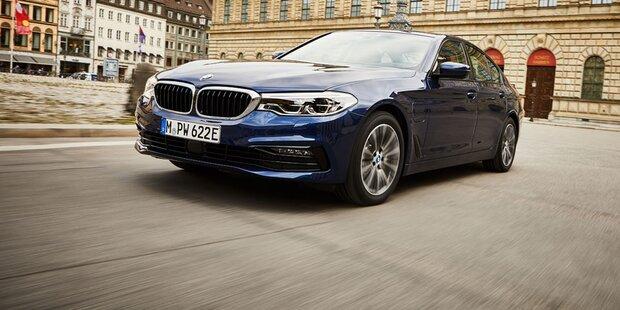 BMW 5er Plug-in-Hybrid jetzt viel besser