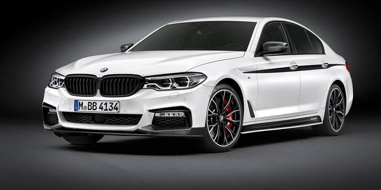 BMW macht den neuen 5er sportlicher