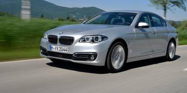 BMW-Dieb aus der Ferne in Auto eingesperrt