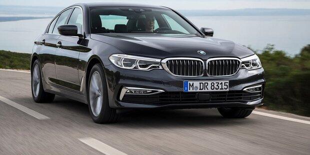 Brandneuer BMW 5er trumpft im Test auf
