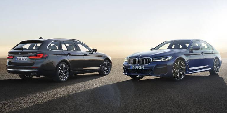 Großes Facelift für den BMW 5er