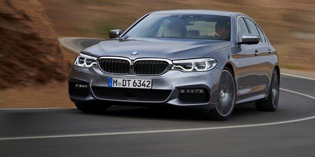 Das ist der völlig neue 5er BMW