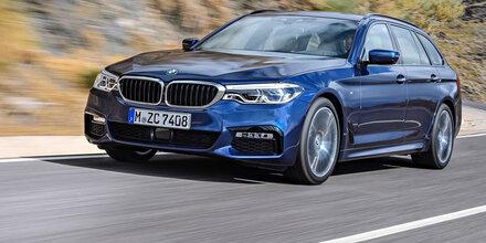 Das ist der neue BMW 5er Touring