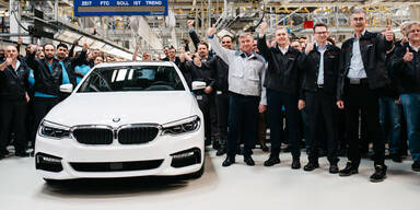 Erster BMW 5er lief in Graz vom Band