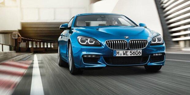 BMW verpasst der 6er-Reihe ein Facelift