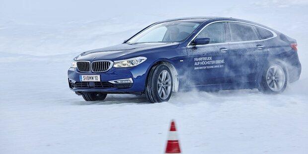 Driften mit dem neuen BMW 6er GT xDrive