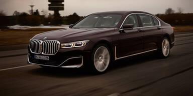 """""""Neuer"""" BMW 7er mit Plug-in-Hybrid startet"""