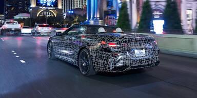Hier fährt das neue BMW 8er Cabrio