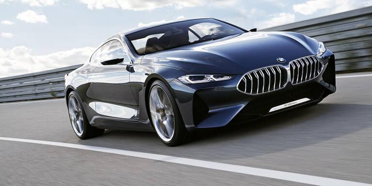So sportlich wird der neue BMW 8er