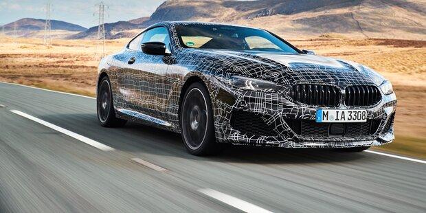 BMW 8er Coupé startet mit 530 PS Motor