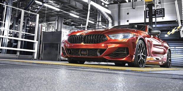 BMW setzt bei 8er Coupé auf 'Exotenalarm'
