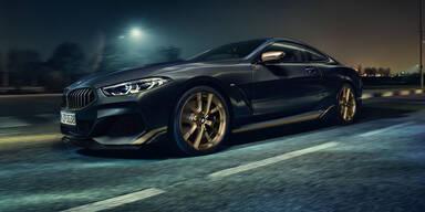 "BMW bringt 8er Edition ""Golden Thunder"""