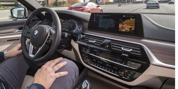 BMW für Zusammenarbeit bei Roboterautos