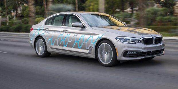 BMW will Standard für autonomes Fahren