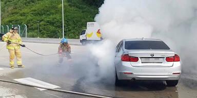 Brandgefahr: Fahrverbot für 20.000 BMW-Autos