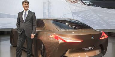 Neue Infos zu BMWs selbstfahrenden Autos