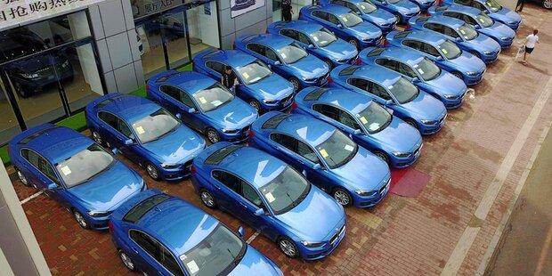 Deutsche Autobauer in den Fängen Chinas