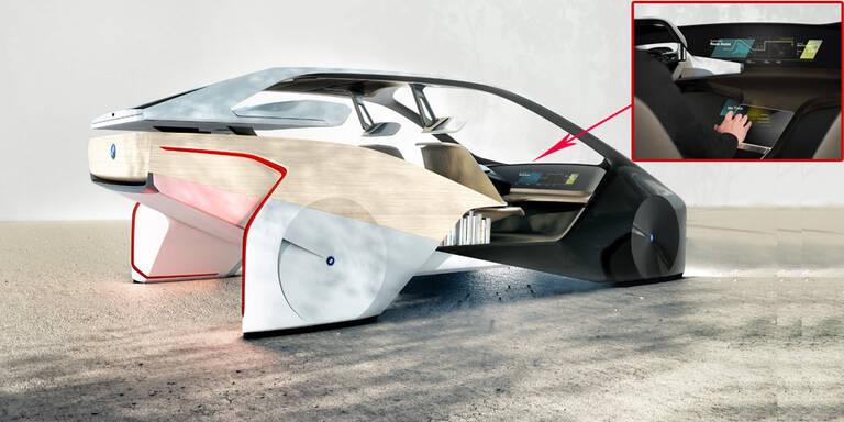 Hässliche BMW-Studie zeigt Cockpit der Zukunft