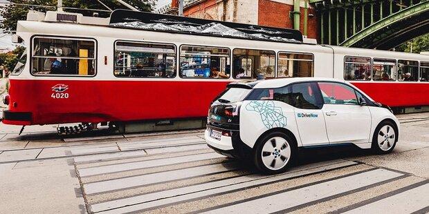 DriveNow hat in Wien 100.000 Kunden