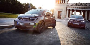 BMW i3 und i3s bekommen mehr Reichweite