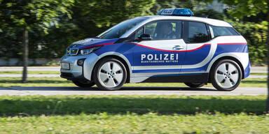 Erstes Elektroauto im Polizeieinsatz