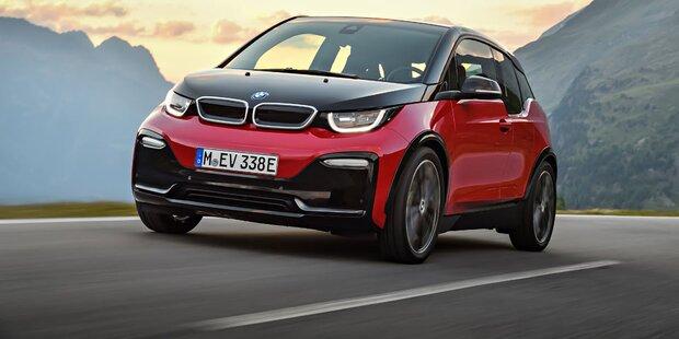 BMW i3: Facelift und stärkere Variante