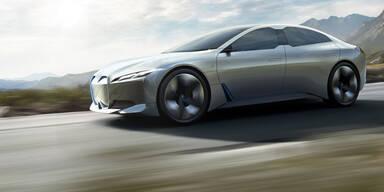 Neue BMW Elektro-Limousine i4