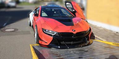 Polizei beschlagnahmt 350.000-Euro-BMW