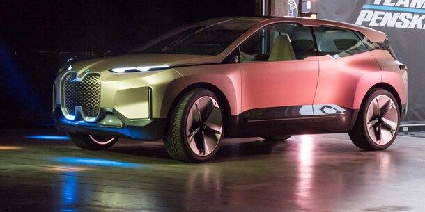iNext kommt: BMW setzt voll auf Elektro-Flaggschiff