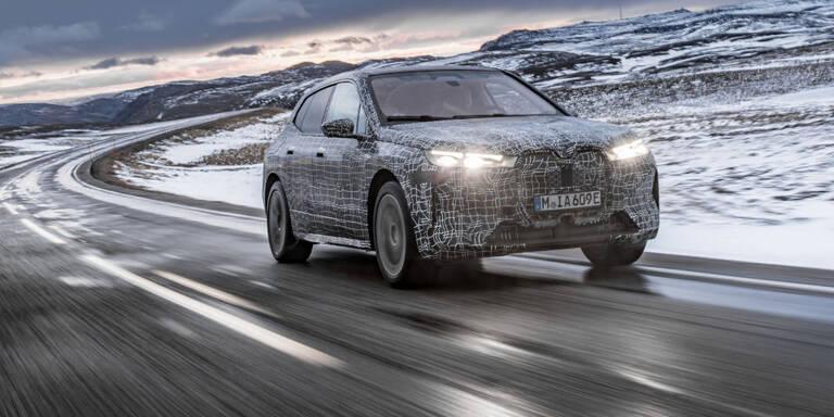 BMWs großes Elektro-SUV iX im Härtetest