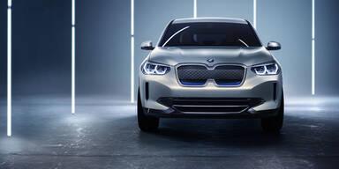 So kommt der rein elektrische BMW X3