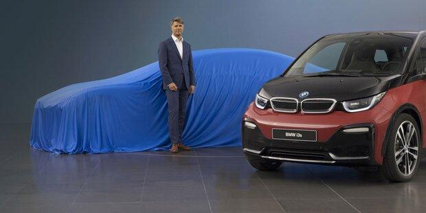 BMW kündigt 12 neue Elektroautos an