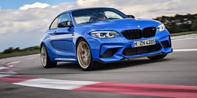 Neuer BMW M2 CS leistet 450 PS