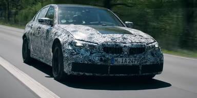 Video zeigt den kommenden BMW M3