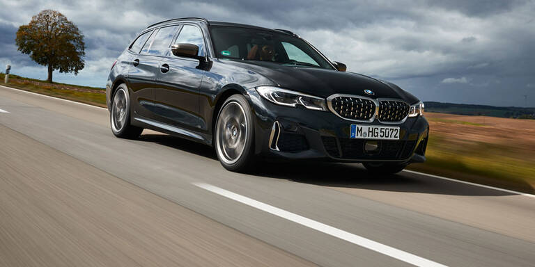 BMW greift mit dem M340d (Touring) an